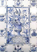 Delft Tile Panel